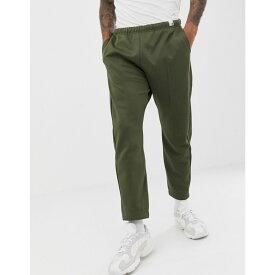 アディダス adidas Originals メンズ ボトムス・パンツ ジョガーパンツ【XBYO track pants in olive】Olive cargo f