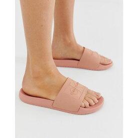カルバンクライン Calvin Klein レディース シューズ・靴 サンダル・ミュール【Christie Blush Jelly Slides】Pink