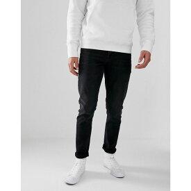 エイソス ASOS DESIGN メンズ ボトムス・パンツ ジーンズ・デニム【slim jeans in washed black】Washed black