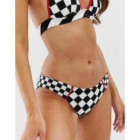 トミー ヒルフィガー Tommy Hilfiger レディース 水着・ビーチウェア ボトムのみ【x Gigi Checkerboard bikini bottoms】Checkerboard