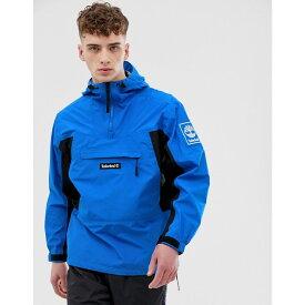 ティンバーランド Timberland メンズ アウター ジャケット【waterproof pullover with front pocket in blue】Strong blue