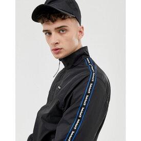 ティンバーランド Timberland メンズ アウター ジャージ【funnel neck track jacket in black】Black