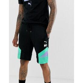 プーマ Puma メンズ ボトムス・パンツ ショートパンツ【x MTV colour block shorts in black】Black
