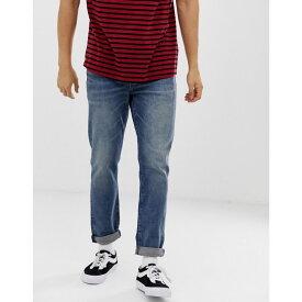 リーバイス Levis メンズ ボトムス・パンツ ジーンズ・デニム【Levi's hi-ball roll skater tapered fit jeans in game point mid wash】Game point