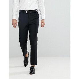 フレンチコネクション メンズ ボトムス・パンツ スキニー・スリム【French Connection Slim Fit Tuxedo Trousers】Black