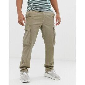 フレンチコネクション French Connection メンズ ボトムス・パンツ カーゴパンツ【cargo trouser】Light khaki