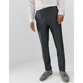 フレンチコネクション French Connection メンズ ボトムス・パンツ スラックス【prince of wales check slim fit suit trousers】Grey