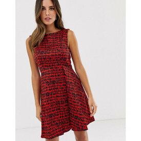 フレンチコネクション French Connection レディース ワンピース・ドレス ワンピース【Canyon Sands Print Dress】Masai red multi