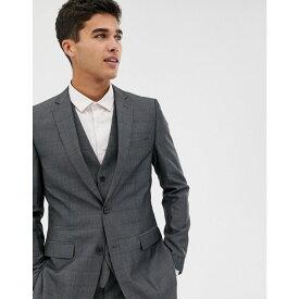 フレンチコネクション French Connection メンズ アウター スーツ・ジャケット【prince of wales check slim fit suit jacket】Grey