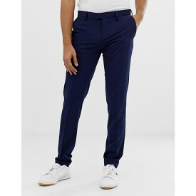 ベネトン United Colors of Benetton メンズ ボトムス・パンツ スラックス【United Colors Of Benetton slim fit trousers with stretch in royal blue】Blue