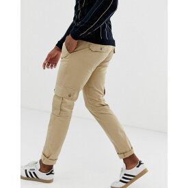 ベネトン United Colors of Benetton メンズ ボトムス・パンツ カーゴパンツ【United Colors Of Benetton cargo pants in tan】Brown