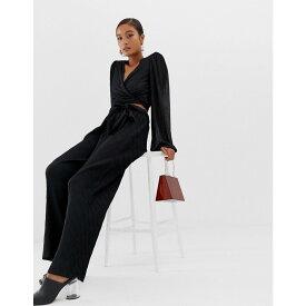 ミニマム Minimum レディース ボトムス・パンツ【Moves By tie waist trousers】Black
