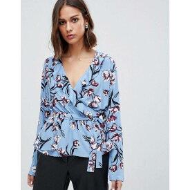 ミニマム Minimum レディース トップス ブラウス・シャツ【floral twist front blouse】Allure