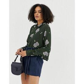 ミニマム Minimum レディース トップス ブラウス・シャツ【floral ruffle sleeve shirt】Rosin