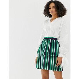 ミニマム Minimum レディース スカート【stripe tiered skirt】Bosphorus