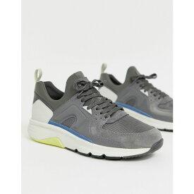 カンペール Camper メンズ シューズ・靴 スニーカー【drift suede trainer in grey】Grey