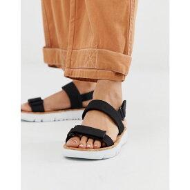 カンペール Camper レディース シューズ・靴 サンダル・ミュール【two part flat sandal in black】Black