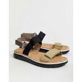 カンペール Camper レディース シューズ・靴 サンダル・ミュール【two part flat sandal】Multicoloured