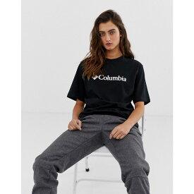 コロンビア Columbia レディース トップス Tシャツ【CSC Basic Logo tee in black】Black