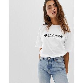 コロンビア Columbia レディース トップス Tシャツ【CSC Basic Logo tee in white】White