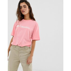 コロンビア Columbia レディース トップス Tシャツ【CSC Basic Logo tee in pink】Pink