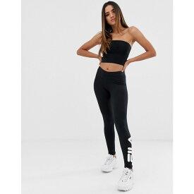 フィラ レディース インナー・下着 スパッツ・レギンス【Essential Leggings With Ankle Logo】Black