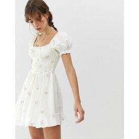 クレオベラ Cleobella レディース ワンピース・ドレス ワンピース【Belinda embroidered mini dress】Ivory