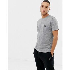 ヒューゴ ボス BOSS メンズ トップス Tシャツ【Tales small logo t-shirt in grey】Grey