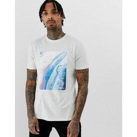 ヒューゴ ボス BOSS メンズ トップス Tシャツ【Teecher 2 printed t-shirt in light green】Light green