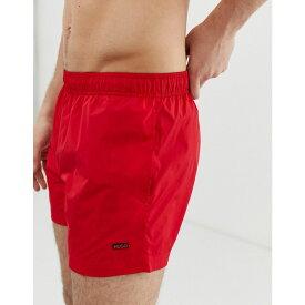 aa0d3ad2f ヒューゴ ボス HUGO メンズ 水着・ビーチウェア 海パン【Barbados logo swim shorts in