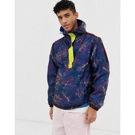ビリオネアボーイズクラブ Billionaire Boys Club メンズ アウター ジャケット【reversible fish camo jacket in blue】Blue