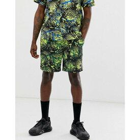 ビリオネアボーイズクラブ Billionaire Boys Club メンズ ボトムス・パンツ ショートパンツ【fish camo shorts in yellow】Yellow