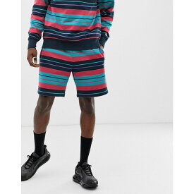 ビリオネアボーイズクラブ Billionaire Boys Club メンズ ボトムス・パンツ ショートパンツ【stripe shorts in navy】Navy