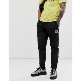 ビリオネアボーイズクラブ Billionaire Boys Club メンズ ボトムス・パンツ ジョガーパンツ【nylon trackpant with embroidered logo in black】Black