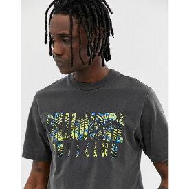 ビリオネアボーイズクラブ Billionaire Boys Club メンズ トップス Tシャツ【pigment dyed fish camo logo t-shirt in black】Black