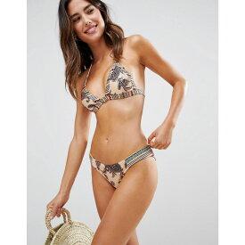 ミンクピンク Minkpink レディース 水着・ビーチウェア ボトムのみ【Aria Contrast Panel Bikini Bottoms】Multi