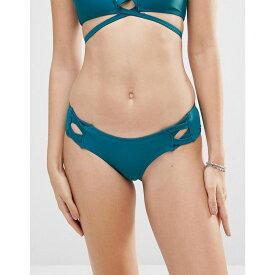 ミンクピンク Minkpink レディース 水着・ビーチウェア ボトムのみ【Hipster Bikini Bottom】Dark teal