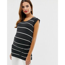 ママリシャス Mama.licious レディース トップス Tシャツ【Mamalicious maternity stripe noos t-shirt basics】Multi