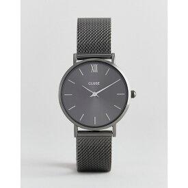 クルース Cluse メンズ 腕時計【CLUSE Minuit CL30067 mesh strap watch in grey】Grey