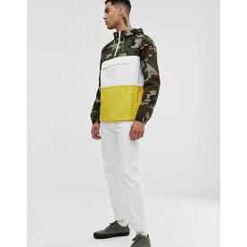 エレメント Element メンズ アウター ジャケット【Covert overhead jacket in camo】Green