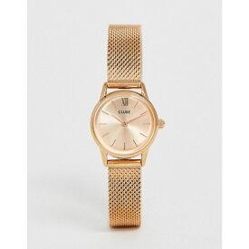クルース Cluse レディース 腕時計【CLUSE La Vedette Mesh Rose Gold Watch CL50002】Rose gold