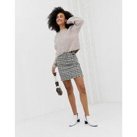 ウェアハウス Warehouse レディース スカート【dogstooth skirt in multi】Multi