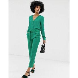 ウェアハウス Warehouse レディース ボトムス・パンツ【tapered trousers in green】Green