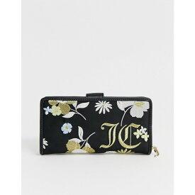 ジューシークチュール Juicy Couture レディース 財布【floral zip around purse】Floral