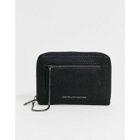 ジューシークチュール Juicy Couture レディース 財布【hardware logo classic zip around purse】Black