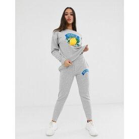ジューシークチュール Juicy Couture レディース ボトムス・パンツ ジョガーパンツ【Juicy By Juicy lemon logo jogger】Heather cozy