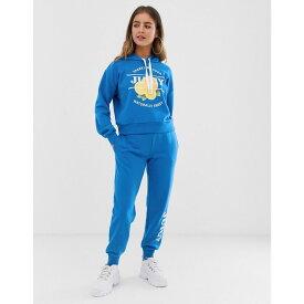 ジューシークチュール Juicy Couture レディース ボトムス・パンツ ジョガーパンツ【Juicy By Juicy logo jogger】Cobalt blue