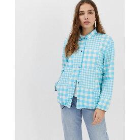 ハーシェル サプライ Herschel Supply Co レディース アウター ジャケット【Herschel x Hoffman voyage packable coach jacket】Royal blue