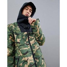 ウェアーカラー Wear Colour メンズ アウター ジャケット【Block Jacket in Camo】Green
