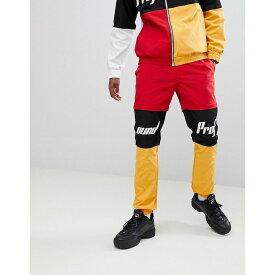 プロファウンド Profound Aesthetic メンズ ボトムス・パンツ ジョガーパンツ【racing track joggers in multi】Red